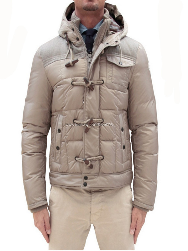 Cheap Moncler Jackets For Men With Beige Cap MC1037 Sale